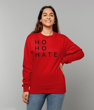 'HO HO HATE' CHRISTMAS JUMPER