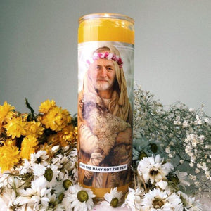 Jeremy Corbyn Prayer Candle