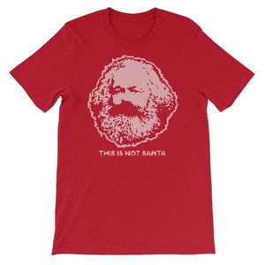 Karl Marx Not Santa T Shirt