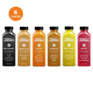 1 Day Cleanse - Press It Juicery - Cleanses