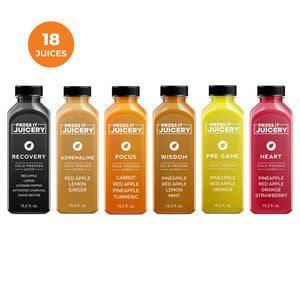 3 Day Cleanse - Press It Juicery - Cleanses