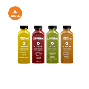 Half Day Cleanse - Press It Juicery - Cleanses