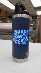 Save Our Oceans Sticker
