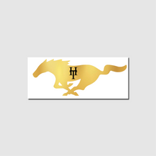 Load image into Gallery viewer, HeadTurners Golden Mustang Sticker