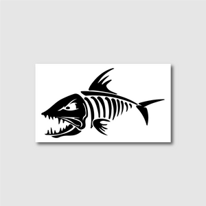 Bonefish Decal