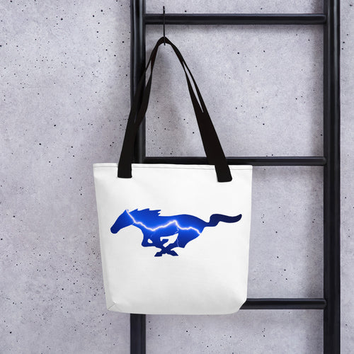Lightning Blue Mustang Bag