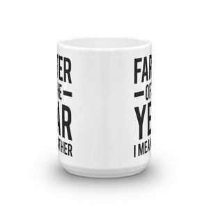 Farter Of The Year Funny Quote Coffee Mug