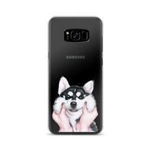 Load image into Gallery viewer, Fluffy Husky Puppy Samsung Case