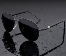 Load image into Gallery viewer, Gun Metal Aviators