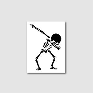 Spooky Scary Dab Decal