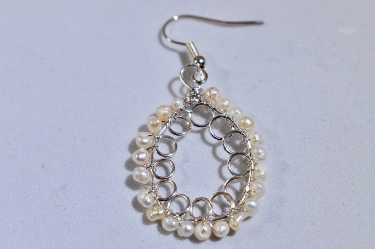Pearl Earrings - Golenza Gallery
