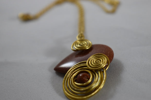 Brown Aventurine Necklace
