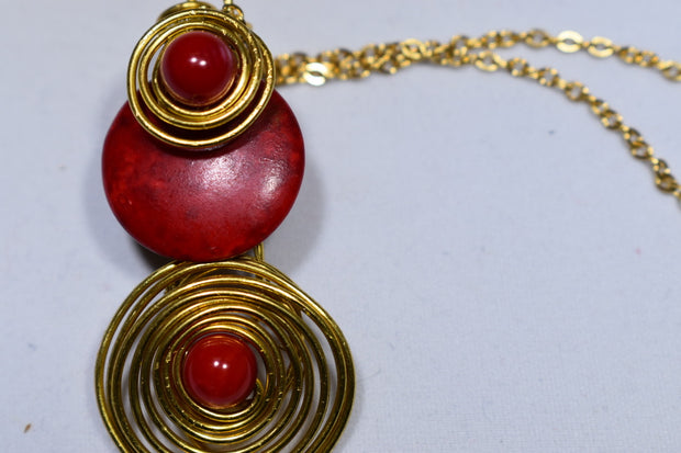 Red Coral Nacklace