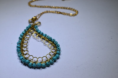 Paisley Necklace - Golenza Gallery