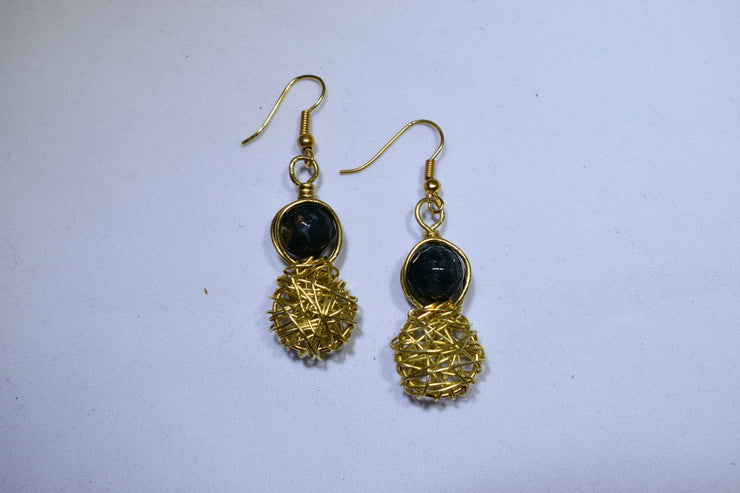 Jasper Earrings - Golenza Gallery