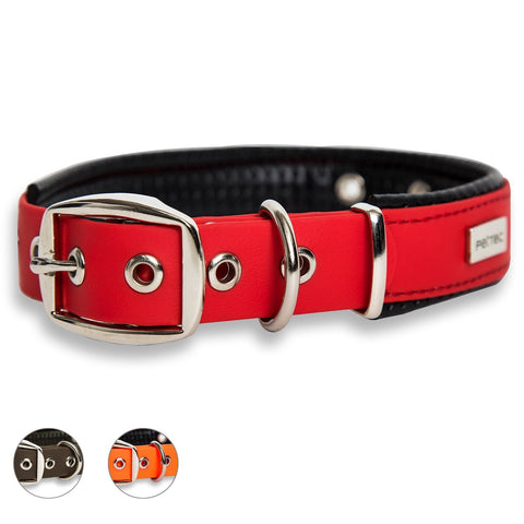 PetTec Comfortable Collier de Chien, Durable & Robuste en Trioflex