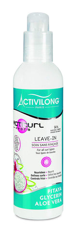 Activilong Acticurl Hydra Leave-In Soin sans Rinçage Pitaya Glycerin Aloe Vera 240 ml