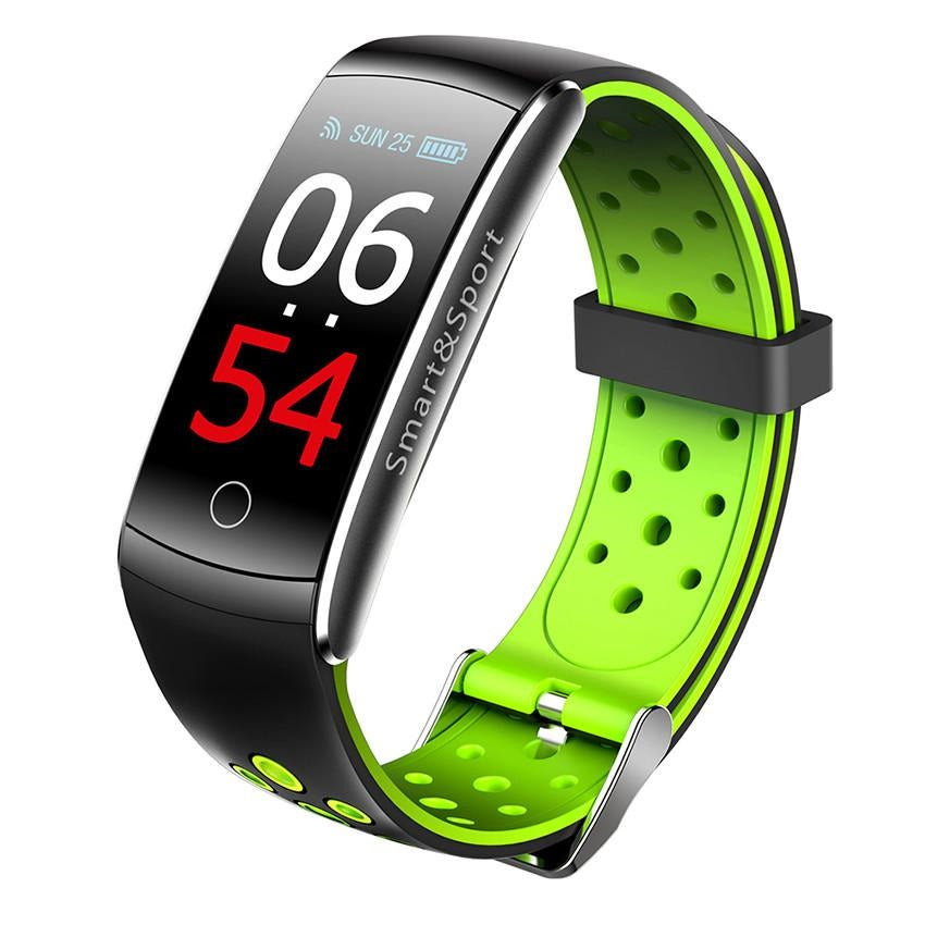 Q8 Waterproof Fitness Tracker Android iPhone Smart Watch Band