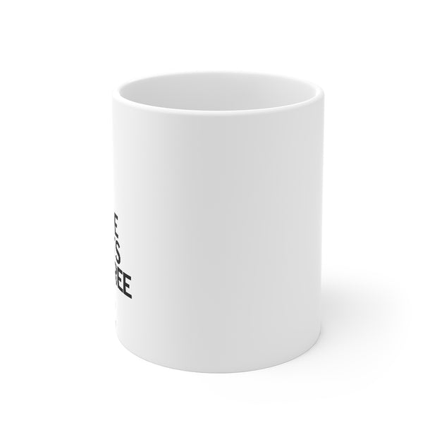 Rated Outdoors Coffee Mug | White Ceramic, 11oz | Ethical coffee company usa | Gift for Men & Women Who Love Tea Mugs & Coffee Cups