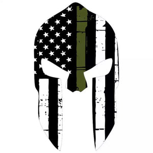 Spartan Helmet Decal
