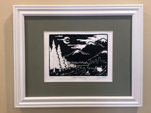 Load image into Gallery viewer, Weekend Getaway - Handmade Print & Frame