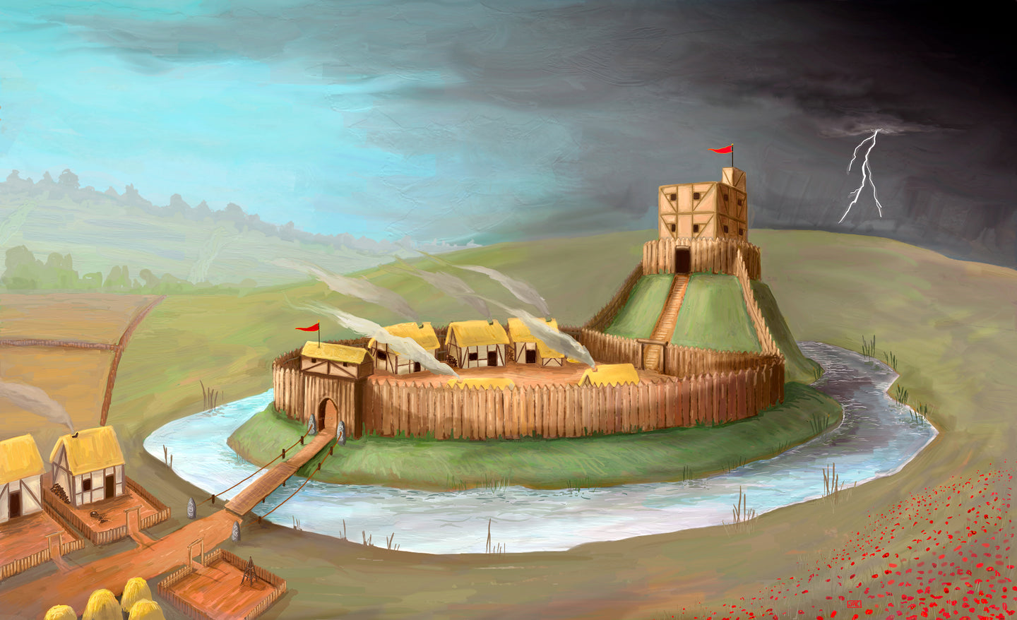 Motte and Bailey - Digital Download