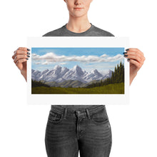 Load image into Gallery viewer, Ered Luin/Blue Mountains - Print (2 Sizes Available)