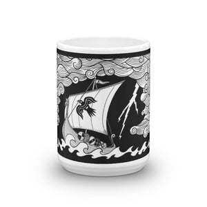 Odins Fury - 15oz Coffee Mug