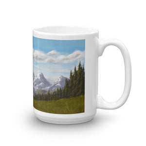 Ered Luin/Blue Mountains - 15oz Coffee Mug