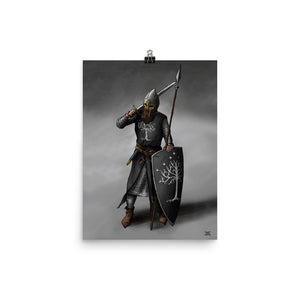 Captain of Gondor - Print (2 Sizes Available)