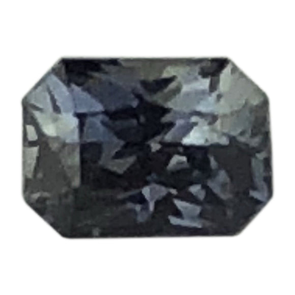 .71 cts blue gray sapphire