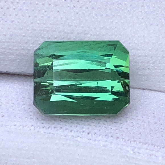 6.43 cts fine green Afghanistan tourmaline