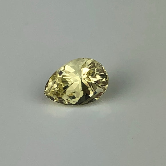 1.16 cts yellow sapphire