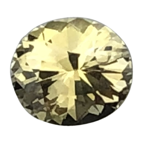 .65 cts yellow sapphire