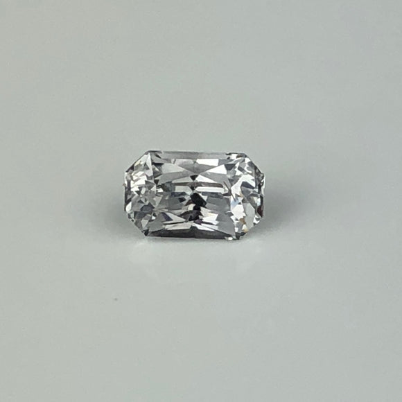 1.01 cts white sapphire