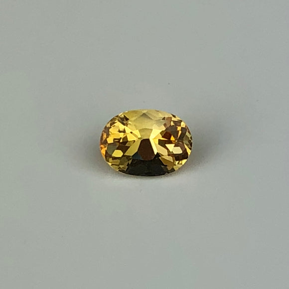 .85 cts yellow sapphire