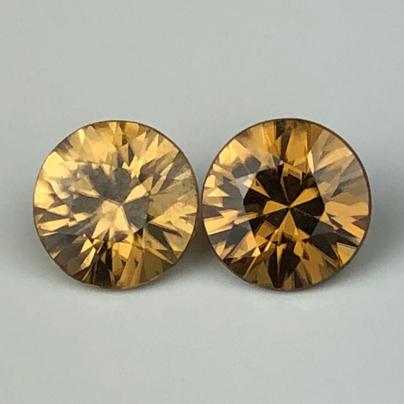 4.60 cts matched pair zircons