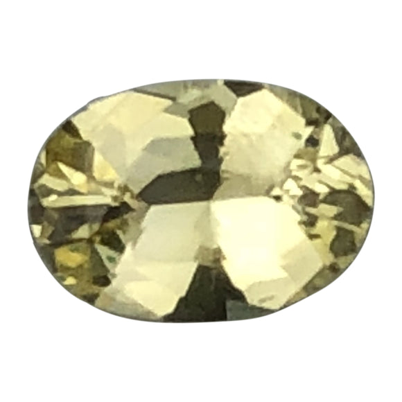 .55 cts bright yellow sapphire