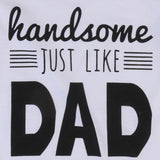Handsome Like Dad Romper