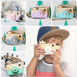 Cute Wooden Toy Camera