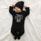 Mommas Boy Long Sleeve Romper