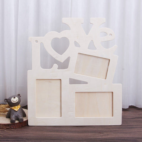 The Hand & Footprint Memory Kit Wooden Frame