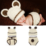 Crochet Mesh Baby Hat and Shorts Star Wars Baby Yoda Set