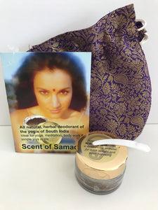 Scent of Samadhi Powder Deodorant