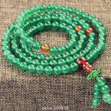 Green Carnelian Meditation Prayer Mala
