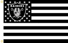 Raiders Nation USA - 3'X5' Raiders 4 Life Flag