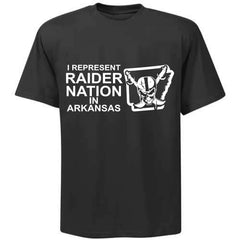 I Represent Raider Nation in Arkansas - R4L Shirt