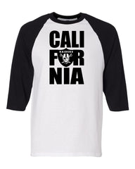 CALI FOR NIA - Baseball 3/4 Sleeve R4L Tee