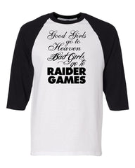 Bad Girls - Baseball 3/4 Sleeve R4L Tee