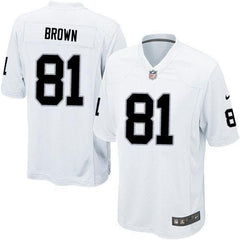 Tim Brown - Oakland Raiders Away Jersey
